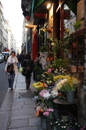 パリの花屋1