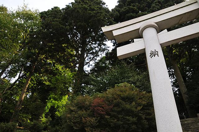 加茂神社入口