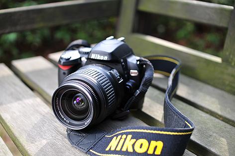AF-S DX Zoom-Nikkor ED 18-55mm F3.5-5.6G IIを付けたD40x