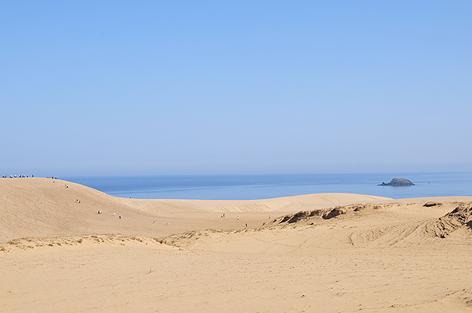 砂丘は広いぞ大きいぞ