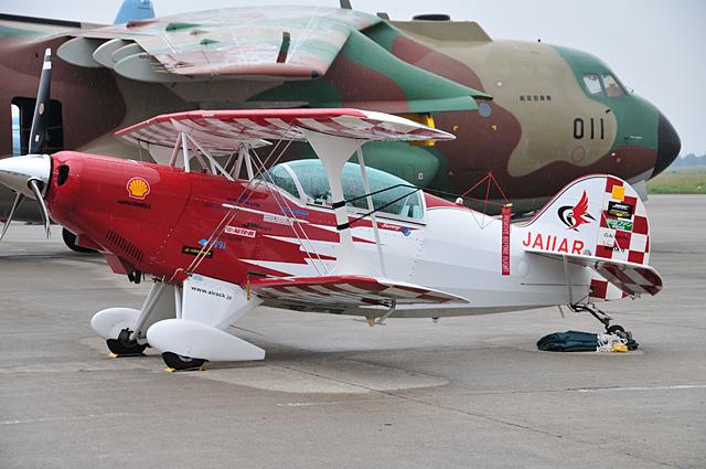 可愛らしい機体