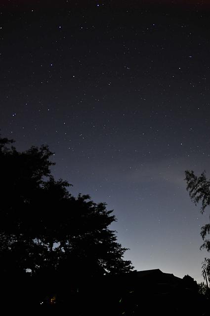 星もキレイだった