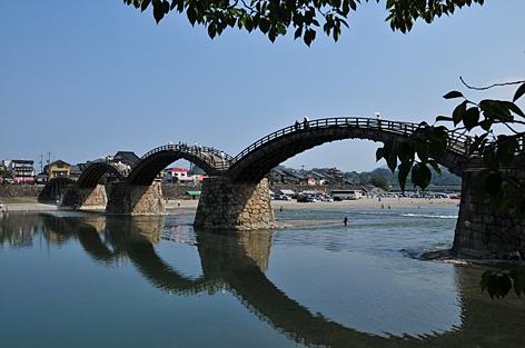 おまけ、当日の錦帯橋全景