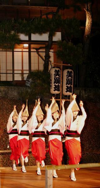 5名阿波踊り