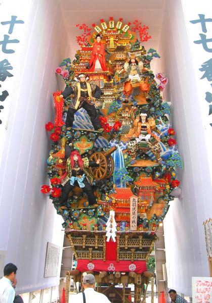 博多祇園山車の全体
