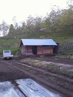 バーベキュー小屋