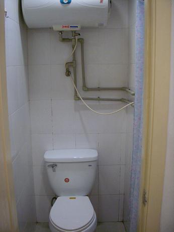 東華大学留学生寮トイレ