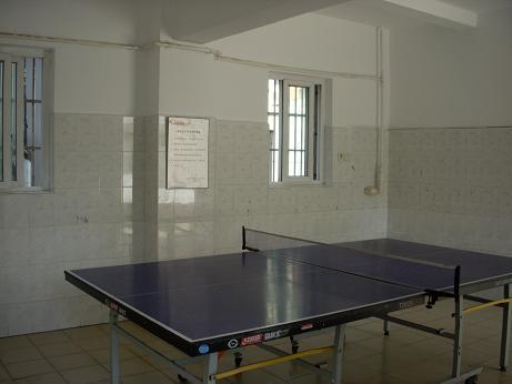東華大学卓球室