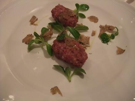 次郎柿と牛肉