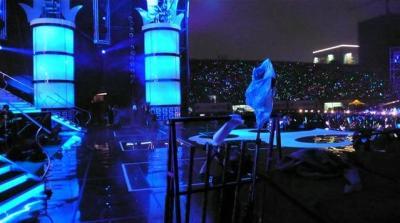 演唱會舞台から