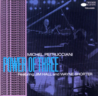 Michiel Petruccuani : PowerOfThree (CD)