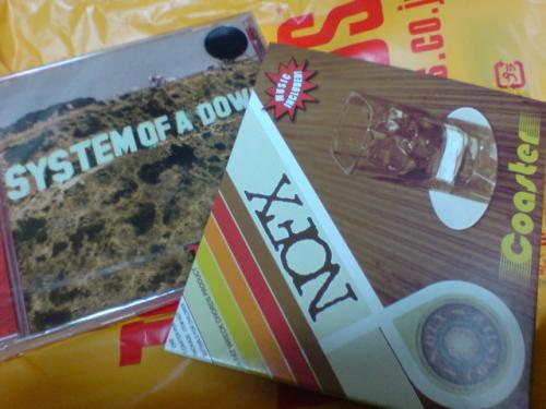 System Of A Down - ToxicityとNOFX - Coaster