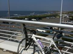 江ノ島付近 陸橋上