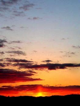 那須の夜明け1