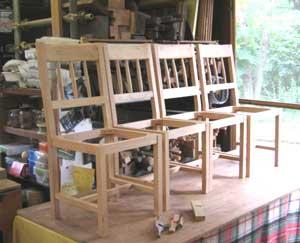 じざい工房の家具たち