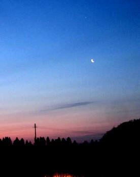 那須の夜明け2