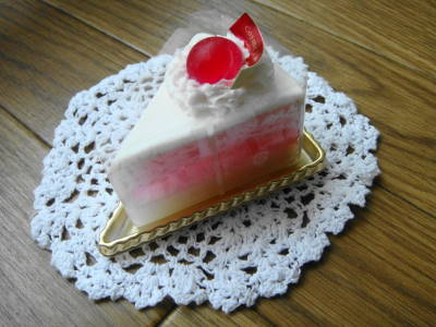 手作りケーキ石鹸