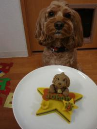 ヨハンさんのお誕生日ケーキ