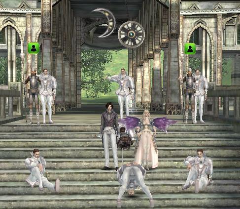 白い妖精と結婚式?!