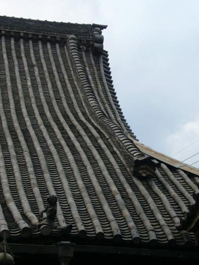 本堂屋根瓦