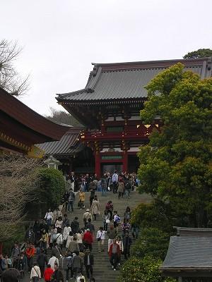 鶴岡八幡宮20090404