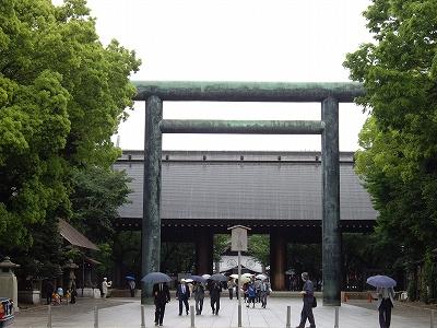 靖国神社第2鳥居20090505