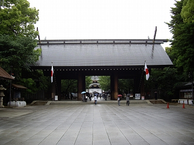 靖国神社神門20090505