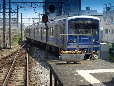 大雄山線入線20090620