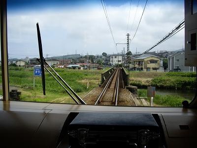 大雄山線鉄橋20090620