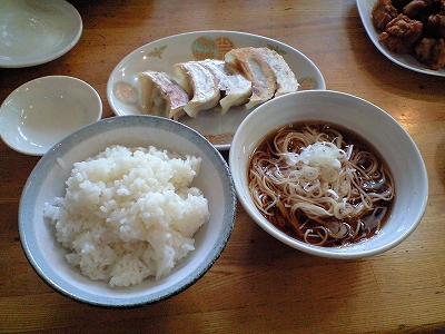餃子定食20090711