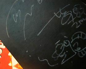 草野さん&三輪さんのサイン