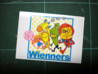wiennersステッカー