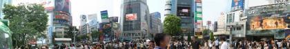 渋谷駅前パノラマ