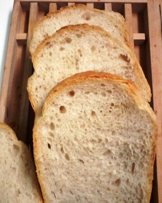 中力粉食パン