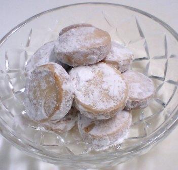 雪化粧クッキー