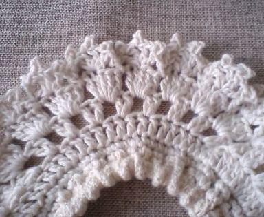 好き勝手に編んだ編み目・・・