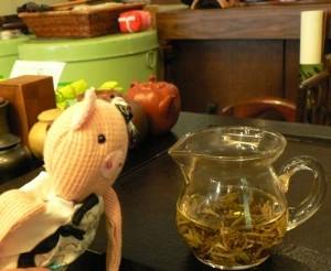 ジャスミン茶なの