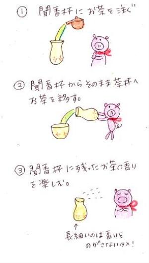 お茶の入れ方2