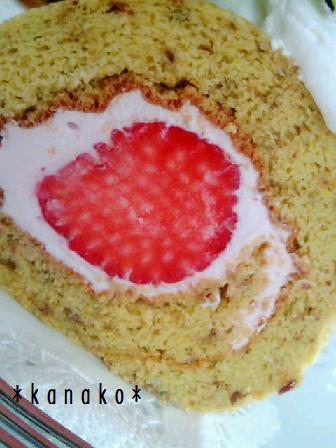 1aaa薔薇のロールケーキ3