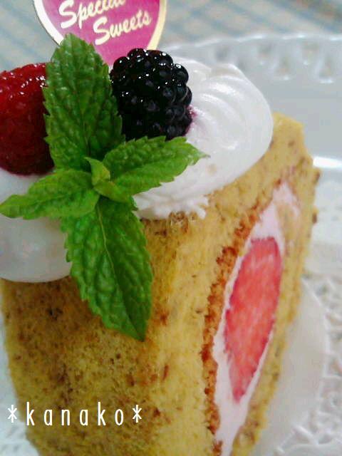 1aaa薔薇のロールケーキ4