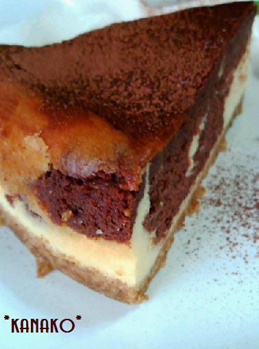 1a1アニス風味のチョコレートチーズケーキ4