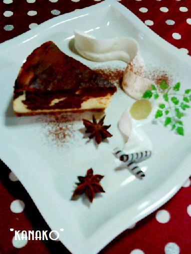 1a1アニス風味のチョコレートチーズケーキ8