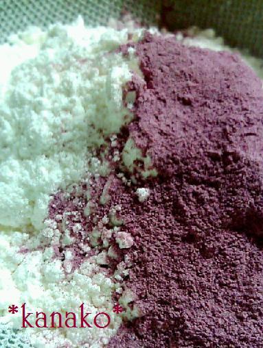 ●●●●●●紫イモのシフォンケーキ2