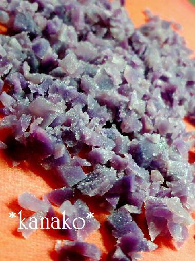 ●●●●●●紫イモのシフォンケーキ3
