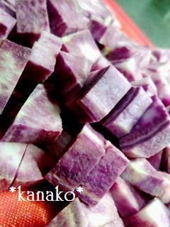 ●●●●●●紫イモのマフィン2