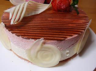 ひな祭り ケーキ 2009 側面