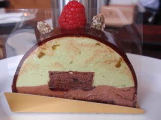 ピスタチオのケーキ