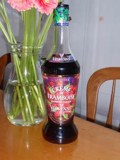 ラズベリーのお酒