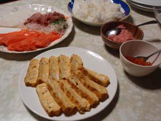 お寿司やさん ごっこ