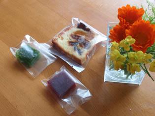 モンプリュ お菓子 3種